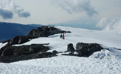 snow at Kilimanjaro mountain